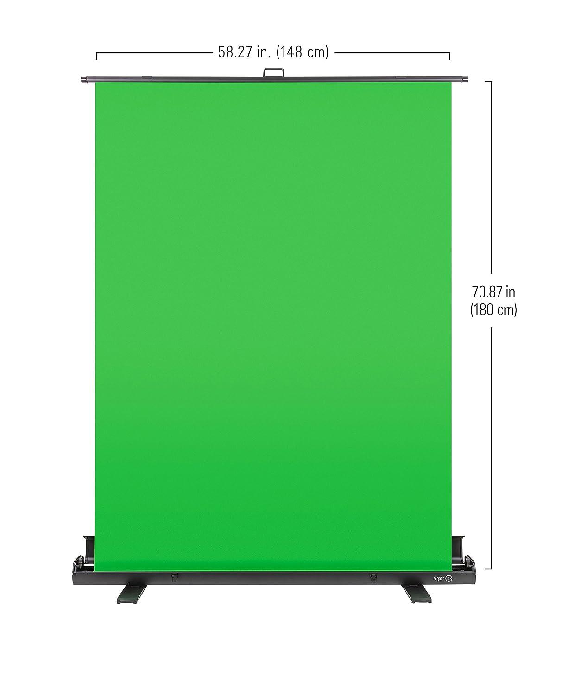 elgato green screen  Buy Elgato Green Screen Collapsible Chroma Key Panel Online at Low ...