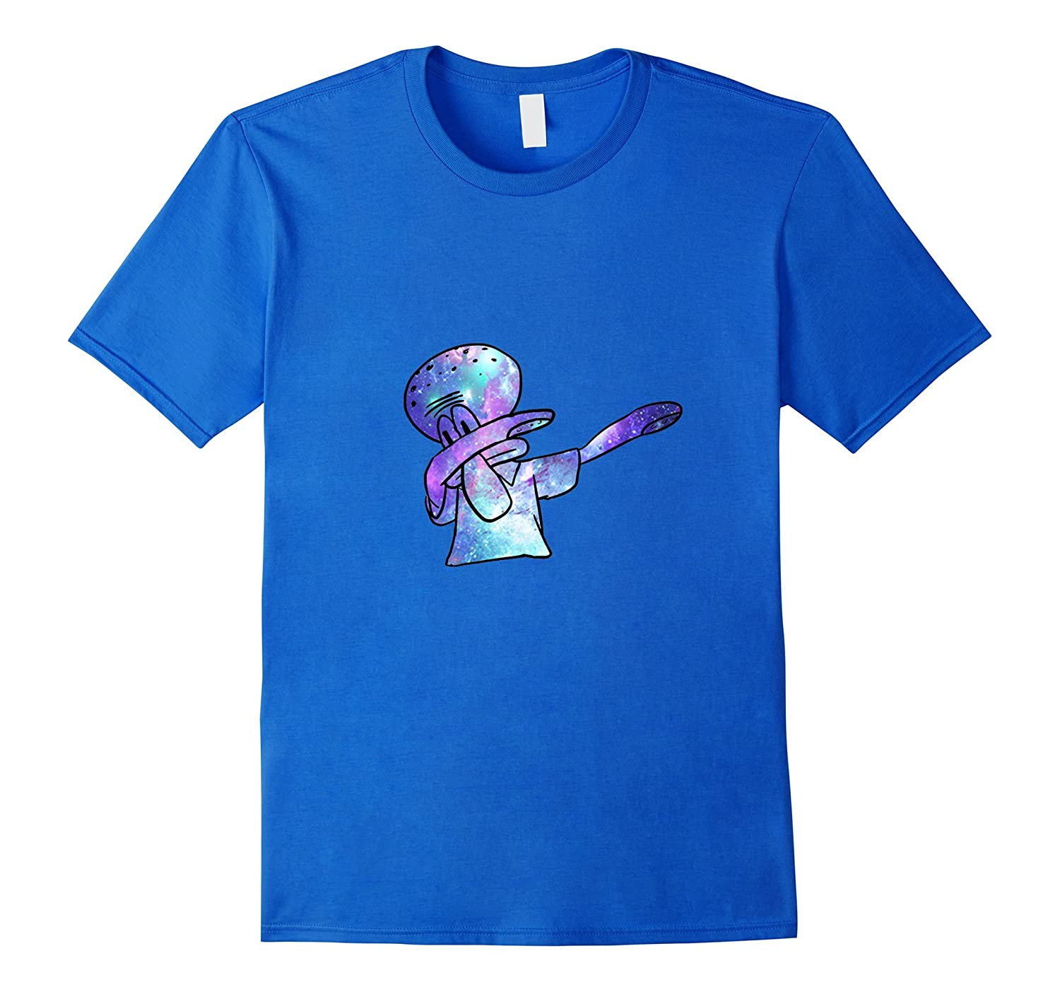 088d9a55de1 Squidward Dab T-Shirt Cosmic Galaxy Edition – Original-RT – Rateeshirt