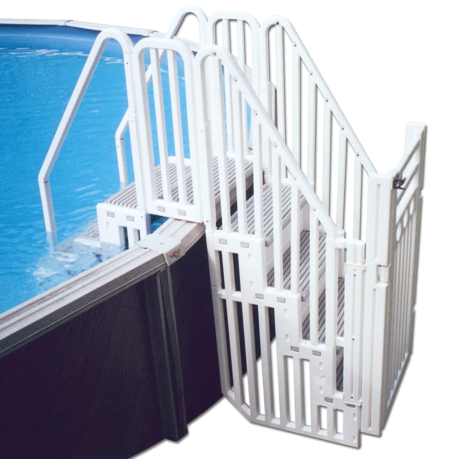 confer above ground pool step enclosure kit