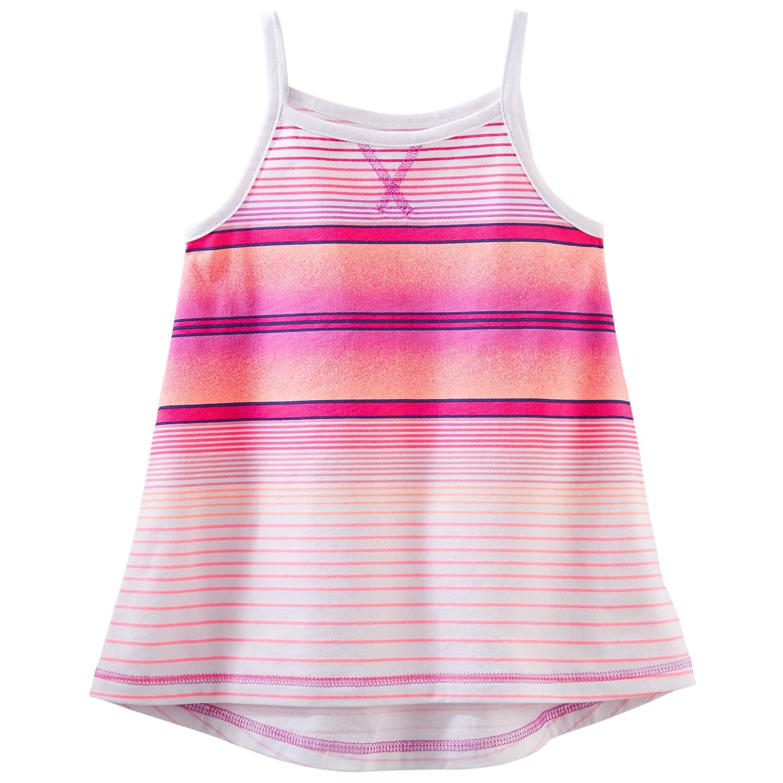 6 Months OshKosh BGosh Baby Girls TLC Striped Tunic Purple