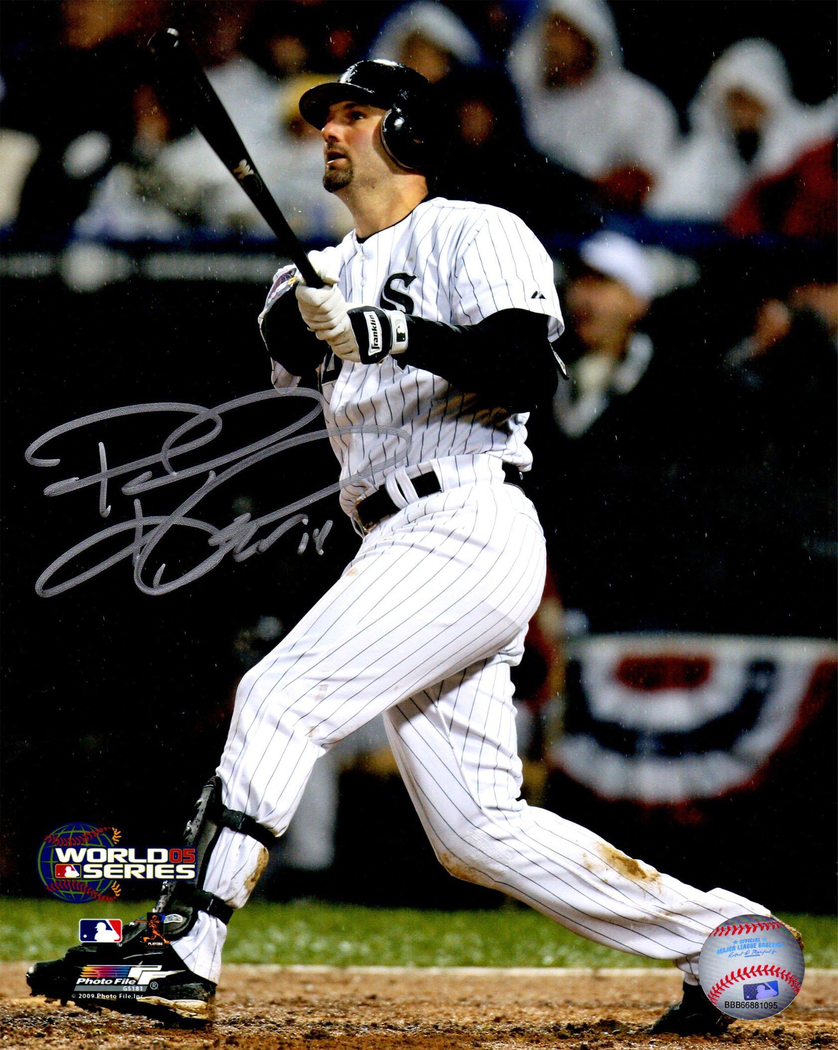 Paul Konerko Signed Chicago White Sox 2005 World Series Game 2 Gand Slam 8x10 Photo