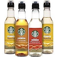 Starbucks Starbuck Variety Syrup 4pk, Variety Pack