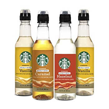 Starbucks Concentrate Form And Naturally Flavored Coffee Syrup