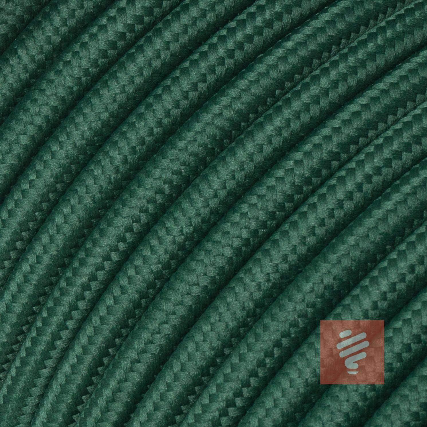 cable H03VV-F 3 x 0,75 mm2 de 3 hilos enchufe en /ángulo de Duroplast: aspecto de baquelita color negro y naranja 1,8 metros Cable de tela con enchufe Schuko