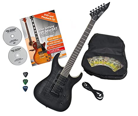 Rocktile Pro J150 de TB S de guitarra transparente Black con ...