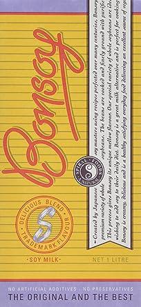Bonsoy Non Organic Milk 1 Litre (Pack of 6)