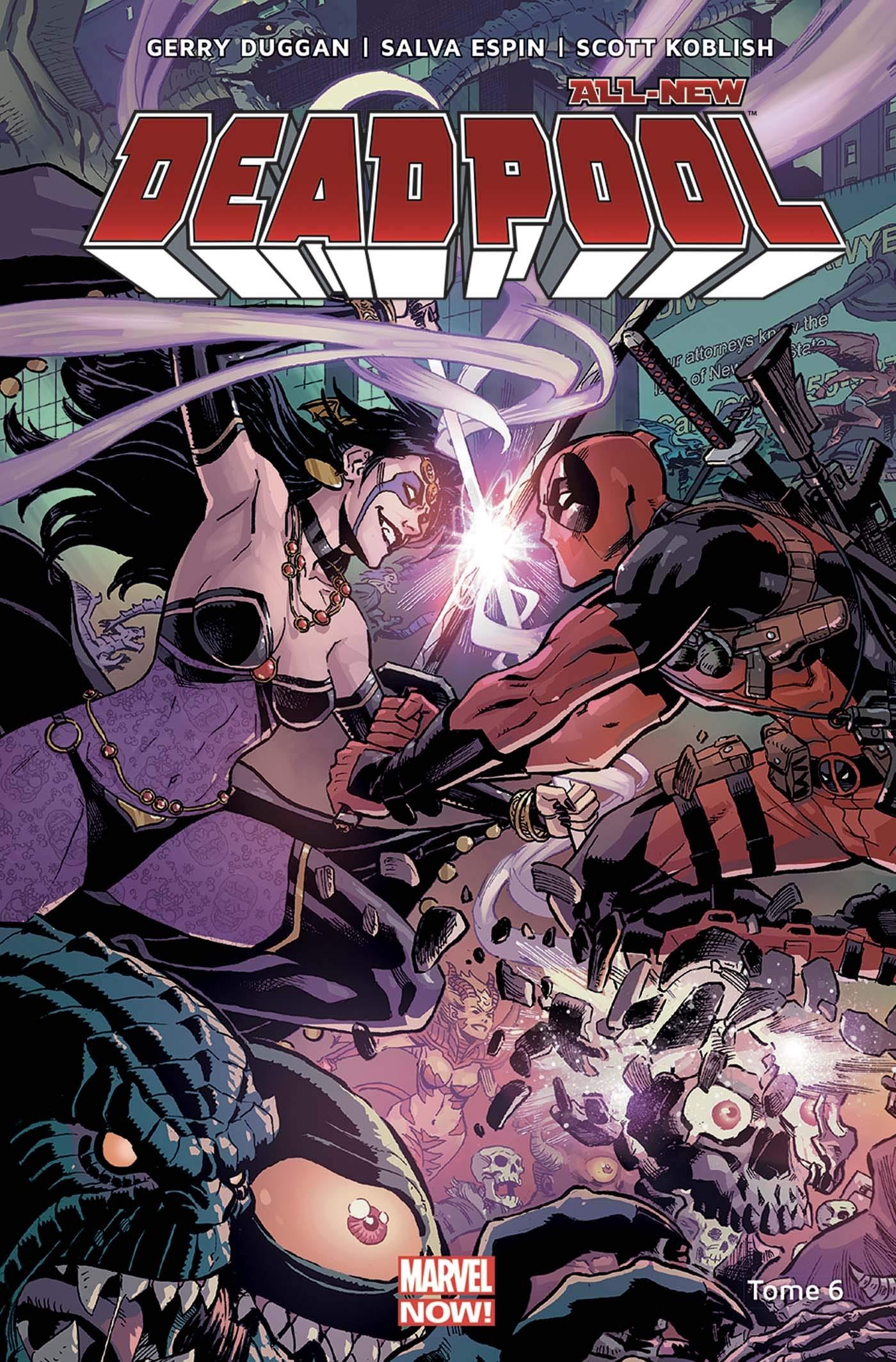 comics deadpool debutant