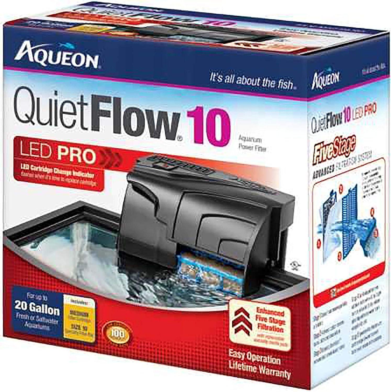 Best Aquarium Filter : Aqueon QuietFlow LED PRO