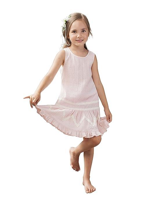 1920s Children Fashions: Girls, Boys, Baby Costumes Adele Pink Girls Dress $29.50 AT vintagedancer.com