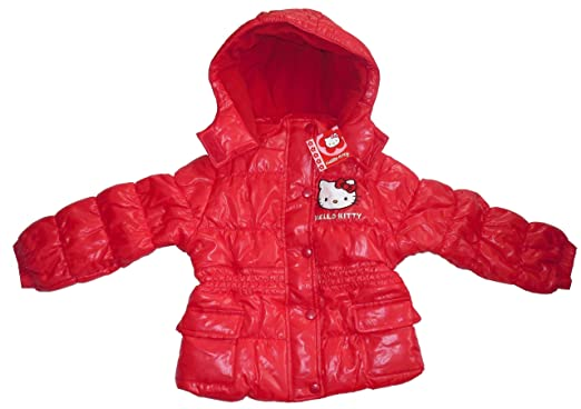 d2a90ebc5 GIRLS HELLO KITTY WINTER JACKET COAT 3 4 5 6 7 8 9 10 YEARS OLD (8A ...