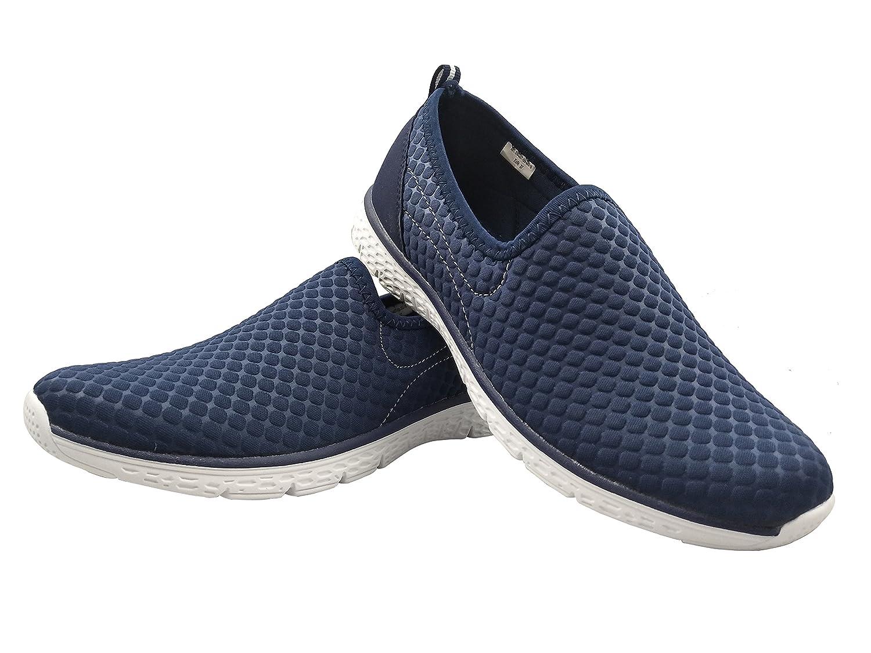 ウォーキング パフォーマンス シューズ 軽量 クッション性 カジュアル 通勤 通学 散歩 トラベル レディース 靴 B07D3L6WTL  Blue0200 9 B(M) US