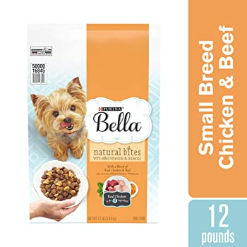 Purina Bella Natural Bites for Small Dogs Adult Dry Dog Food