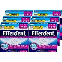 Deals on 6 Pack Efferdent Denture Cleanser Tablets Complete Clean