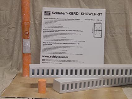 fixer shower youtube install support schl watch a to design drain ter how covering kerdi tips