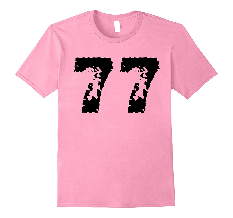 1977 T-Shirt distressed 40th vintange Birthday 77 Tee-CD