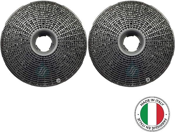 Solución Ahead – 2 filtros antiolores de carbón Activo para Campana extractora Tipo Best 190: Amazon.es: Hogar