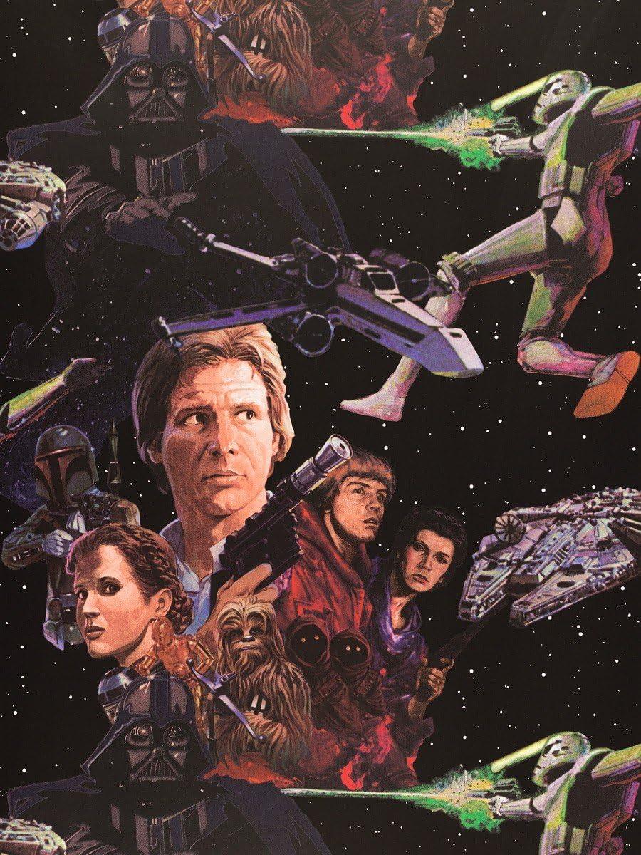 Star Wars Film Wallpaper Amazon Co Uk Diy Tools