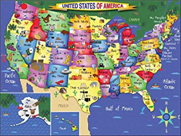 De Usa Map on