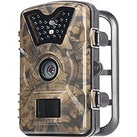"""Hiram Wildkamera Trail Camera Fotofalle 12MP 1080P Jagdkamera 20m Infrarote Nachtsicht Wasserdichte IP66 Überwachungskamera mit 2.4"""" LCD Display"""