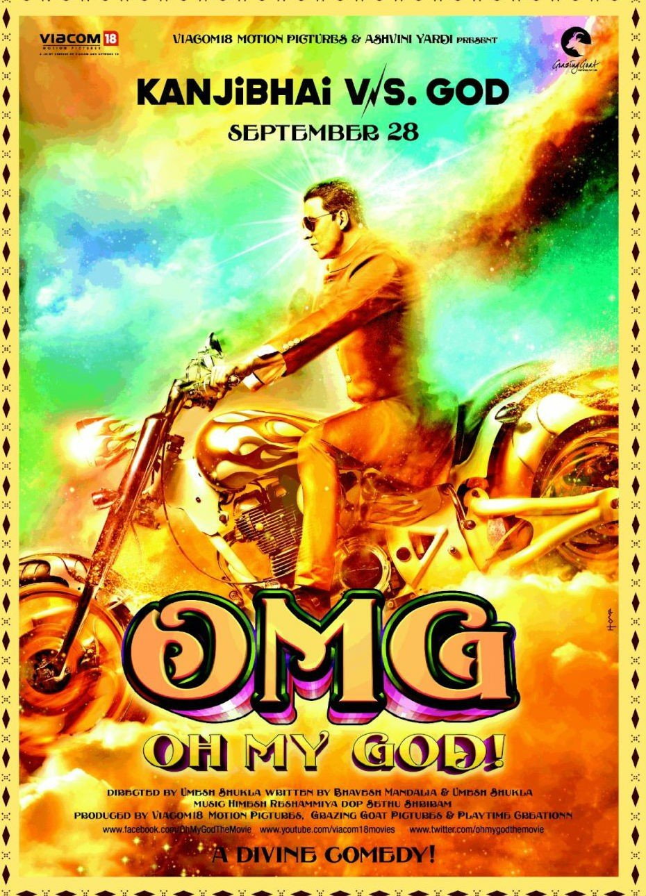 Omg Oh My God Hindi Movie Bollywood Film Indian Cinema Blu Ray 2012 Blu Ray Paresh Rawal Akshay Kumar Mithun Chakraborty Om Puri Mahesh Manjrekar Movies Tv