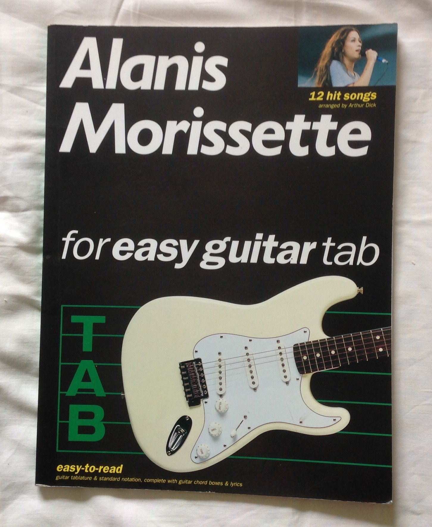 Amazon Alanis Morissette For Easy Guitar Tab 12 Hit Songs