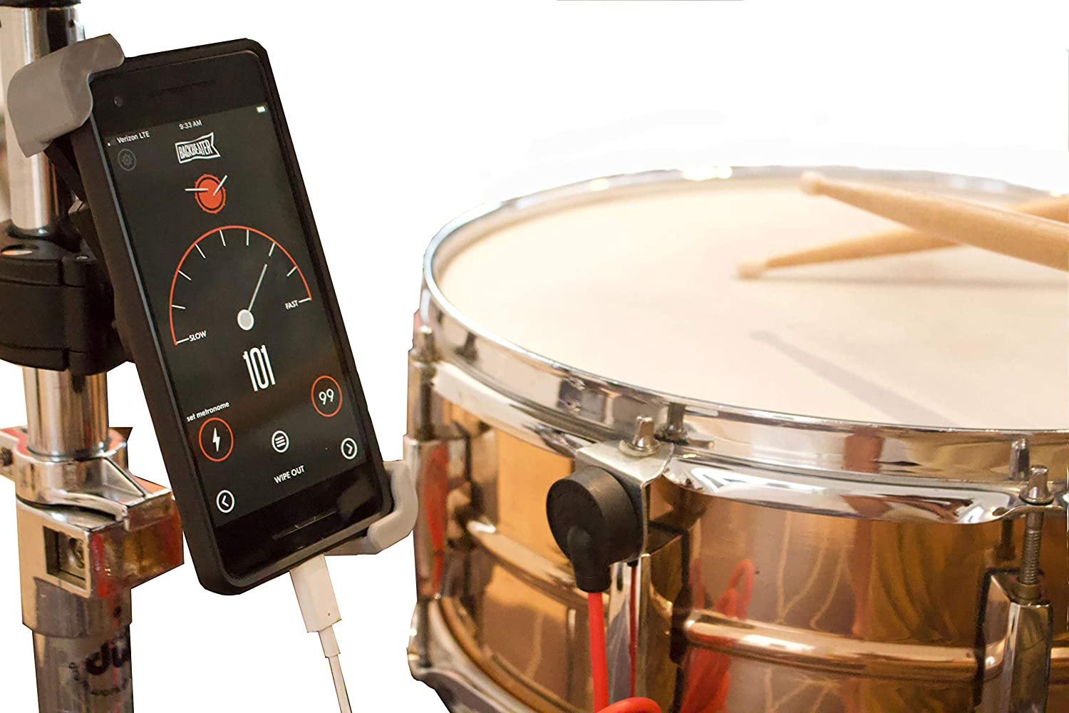 Backbeater Deluxe, Advanced Digital Metronome for Drummers