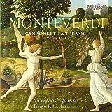 Monteverdi : Canzonette a tre voci, Venise 1584. Radicchia.