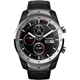 TicWatch Pro, Premium Smartwatch with Layered Display for Long Battery Life, NFC Payment and GPS Build-in, Wear OS by Google,