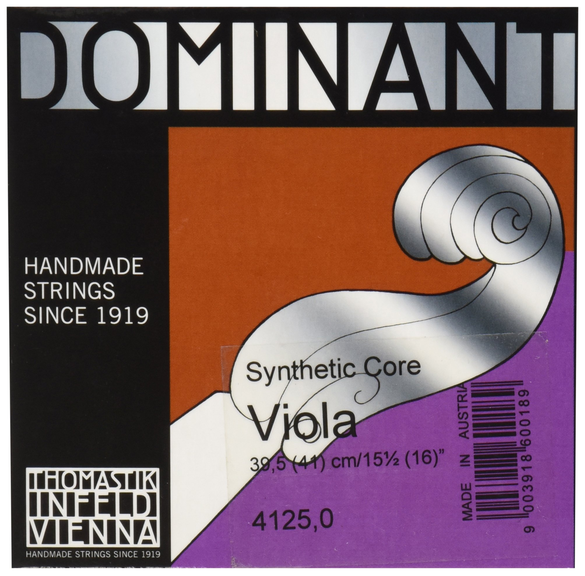 Thomastik-Infeld 4125 Dominant, Viola Strings, Complete Set, 16-Inch