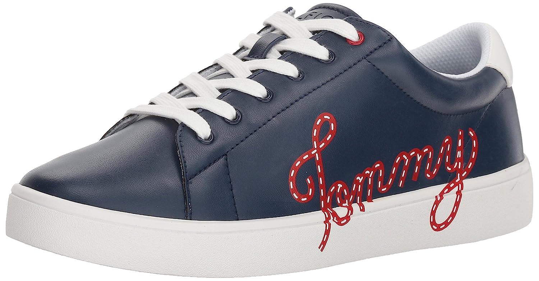 Tommy Hilfiger Women's Steffi Sneaker B075QW99DB 10 B(M) US|Navy
