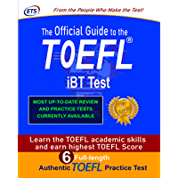 TOEFL iBT OFFICIAL GUIDE 2021-2022: TOEFL iBT Complete Course Guide with 6 Authentic Full-Length TOEFL Practice Test…