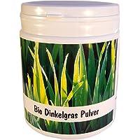 SANOS Bio Dinkelgras Pulver 250g feinst vermahlen aus eigenem Anbau frisch vom Bodensee