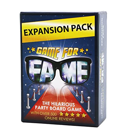 Game For Fame Juego De Cartas De Expansion Para La Fama 130