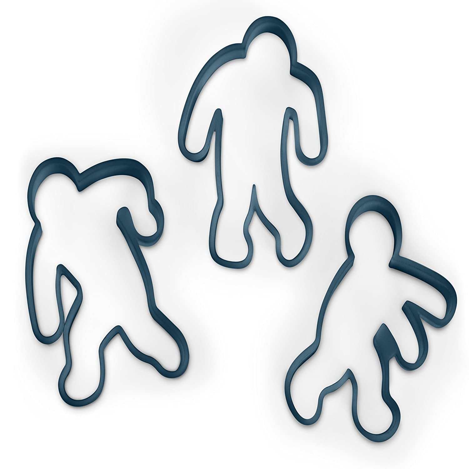 Amazon.com: Fred UNDEAD FRED Zombie Cookie Cutters, Set of 3: Fred ...
