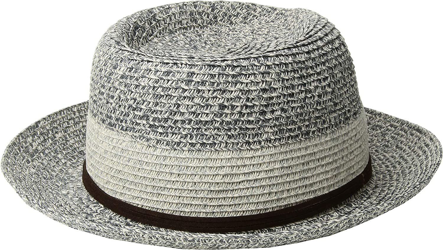 9fe2978e9 San Diego Hat Company Men's PBF7333 - Packable Fedora with Faux ...
