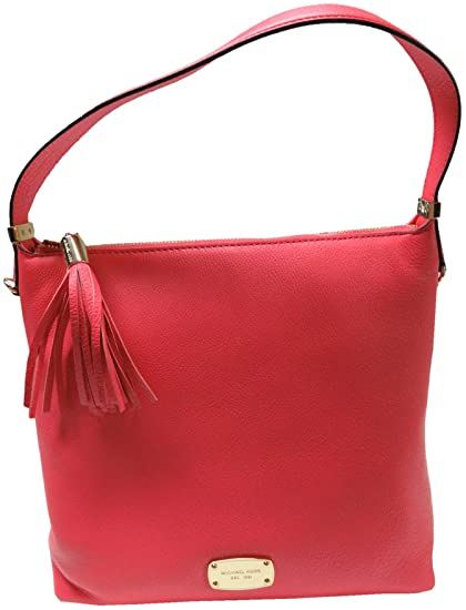 8b8723d4cb12 Image Unavailable. Image not available for. Color: Women's Michael Kors  Purse Handbag Crossbody Medium Leather Tote Watermelon