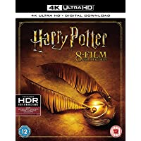Harry Potter - Complete 8-Film Collection [4K UHD] [Blu-ray] [2017] [Region Free] UK IMPORT REGION FREE
