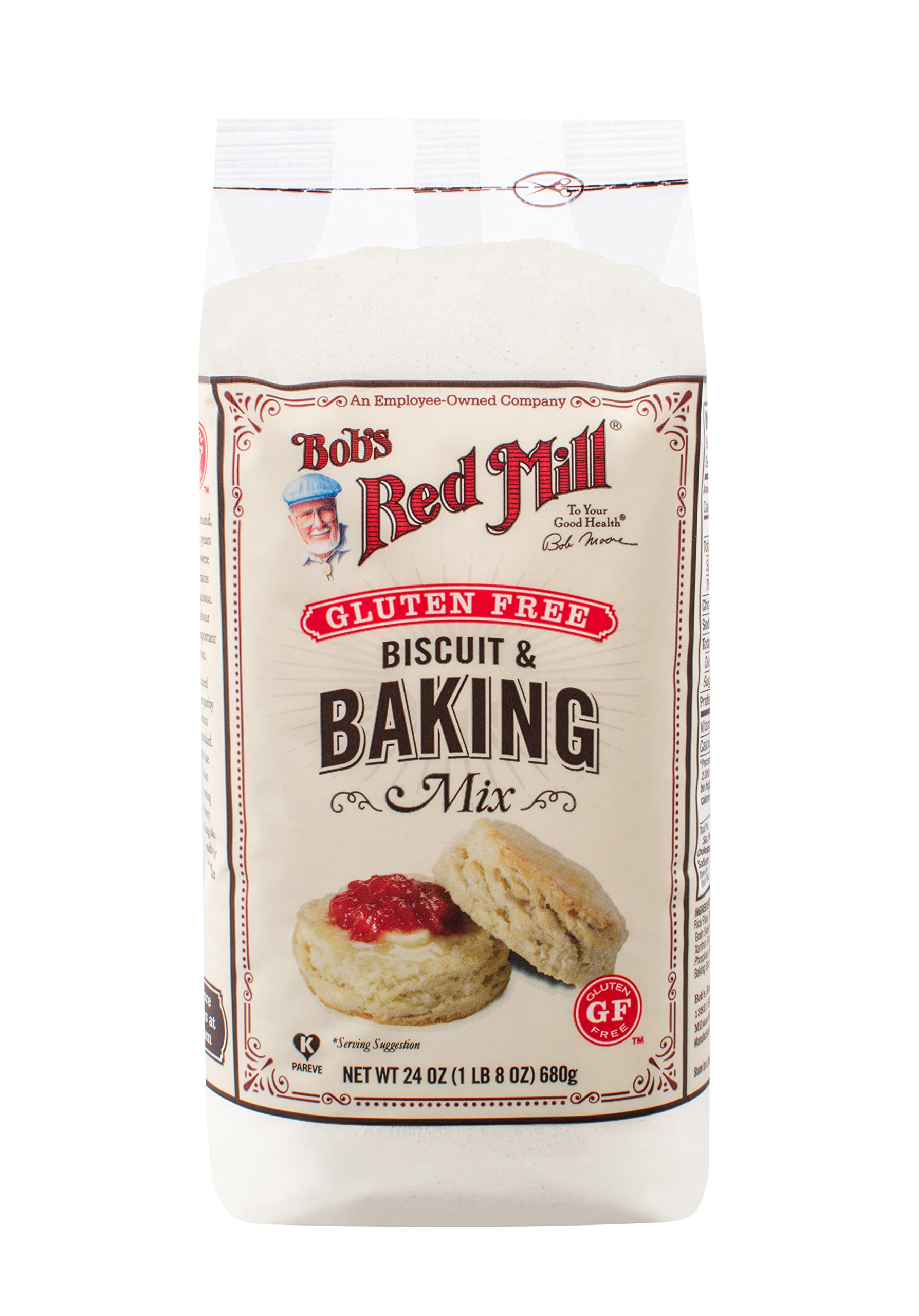 Bob's Red Mill Gluten Free Biscuit & Baking Mix, 24-ounce by Bob's Red Mill (Image #1)