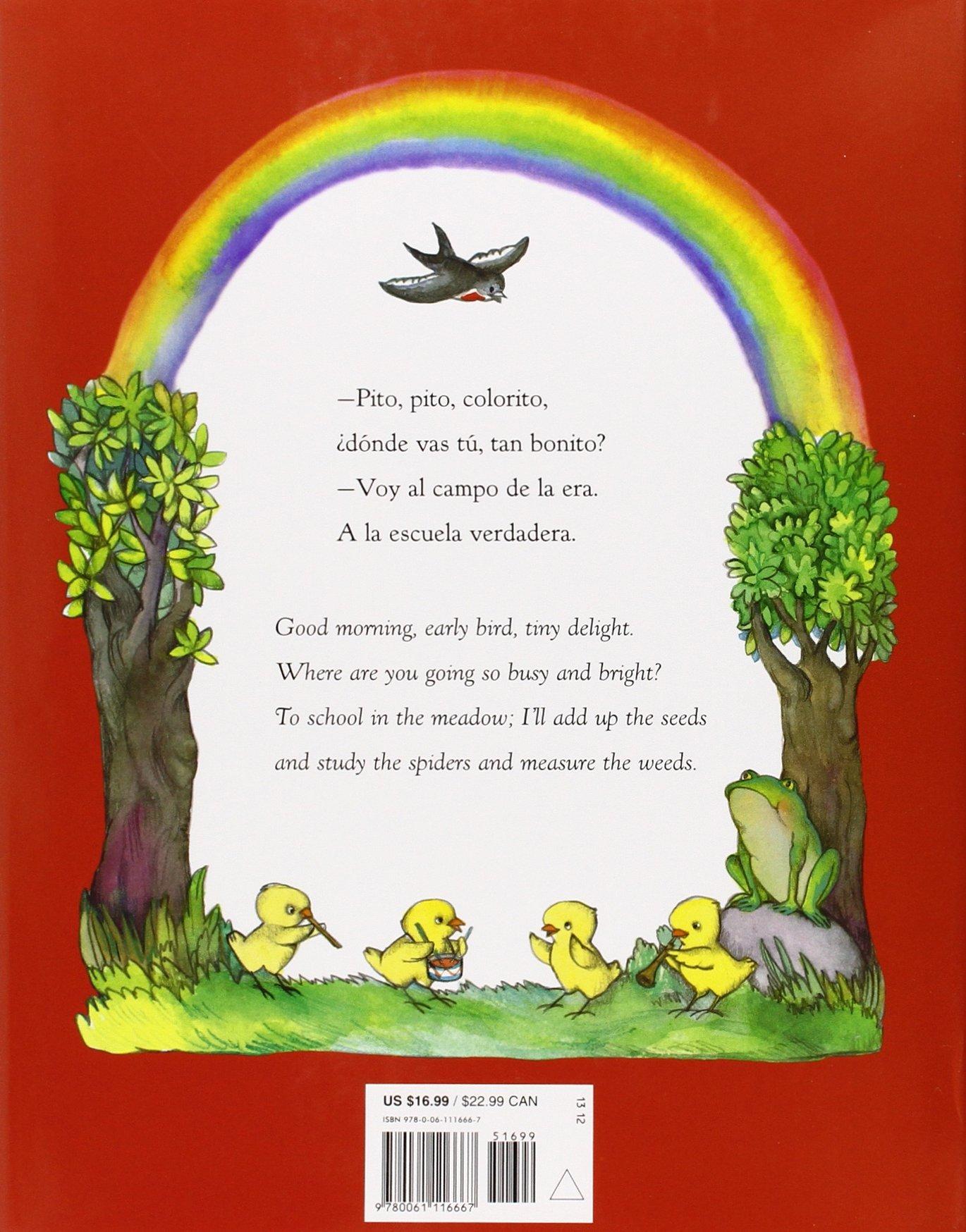 Pio Peep! Traditional Spanish Nursery Rhymes Book and CD: Bilingual Spanish-English by Rayo