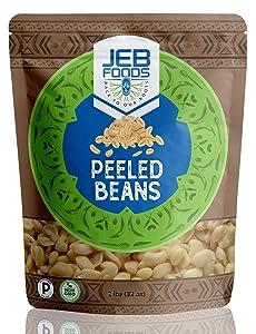 Peeled Beans – 4lbs Great for Nigerian Akara & Moi Moi, gluten free, non-gmo, Nut-free, 100% natural, naturally grown, vegan, Kosher, high protein, carbs, fiber, nutrients, vitamins & minerals