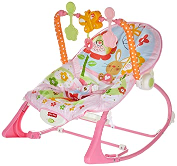 ea1abe2ea Amazon.com : Fisher-Price Infant-to-Toddler Rocker, Bunny : Infant Bouncers  And Rockers : Baby
