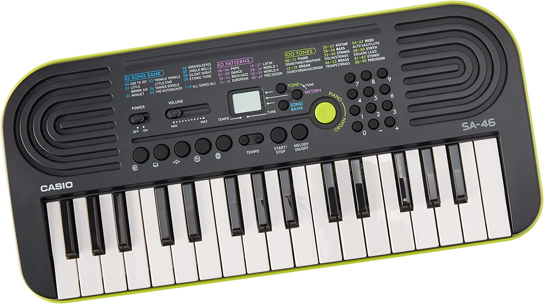 Casio SA-46 -Key Portable Keyboard (Renewed): Amazon.es ...