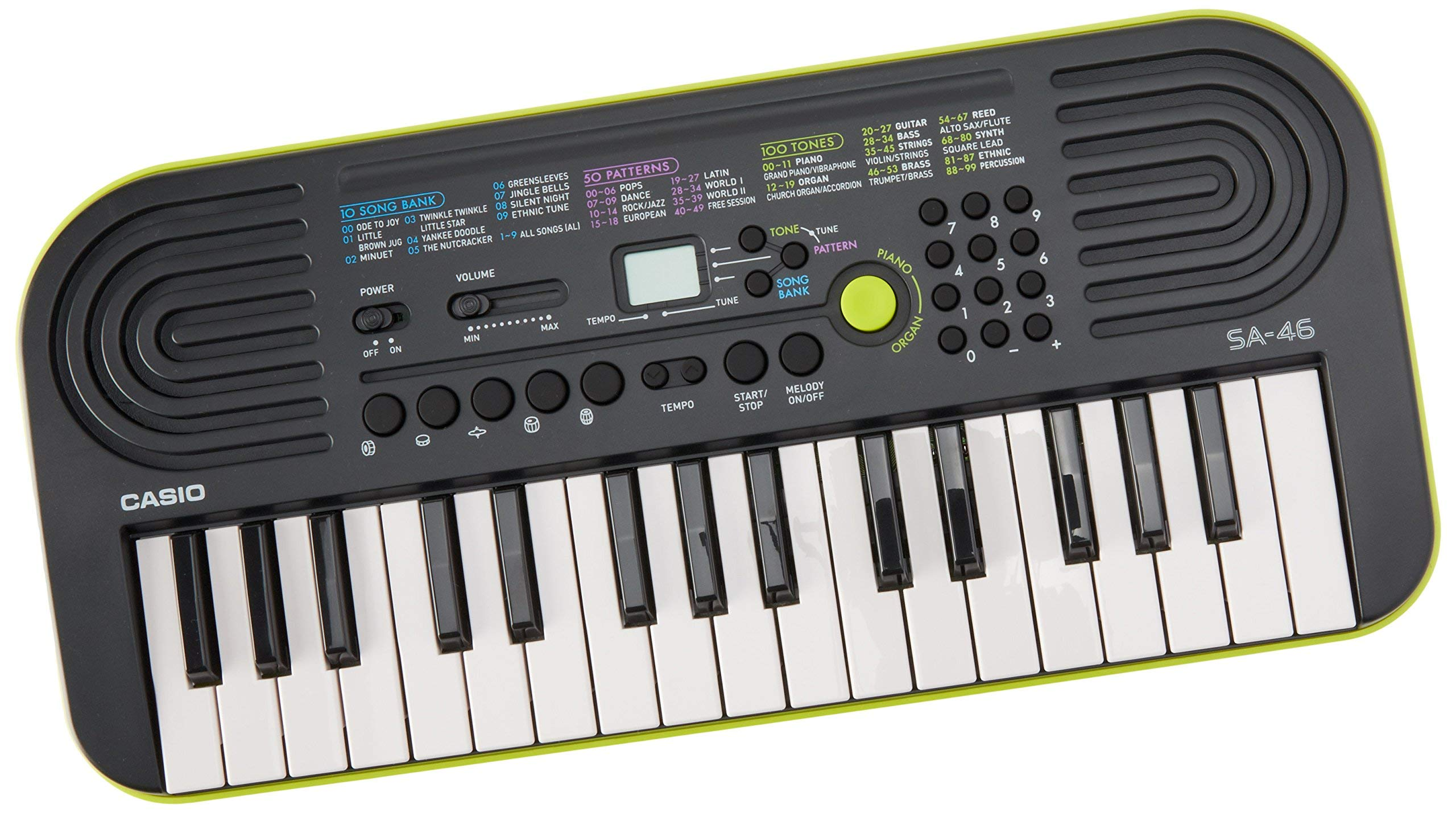 Casio SA-46 -Key Portable Keyboard (Renewed) by Casio (Image #1)
