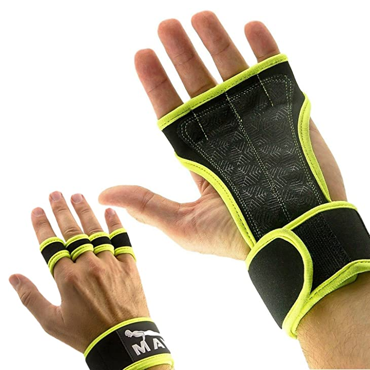 Weight Lifting Gloves for a Strong Grip-by Mava