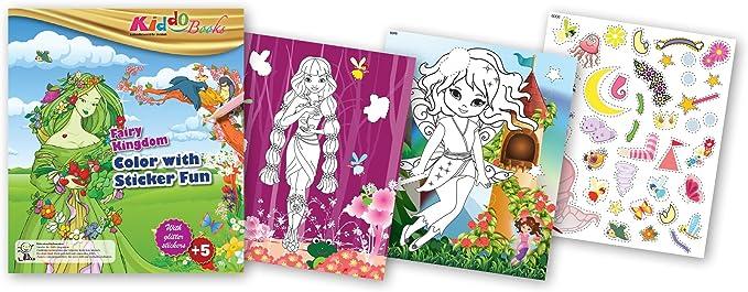 quac kduck libro para colorear Fairy Kingdom – Color with