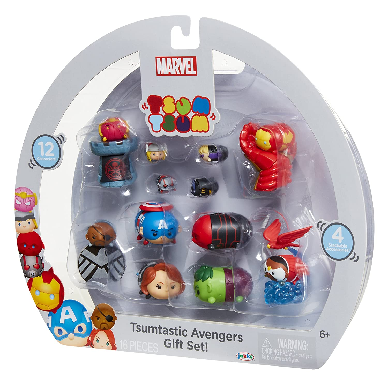 12 Piece Tsum Tsum 64753 Marvel Avengers Figure Gift Set