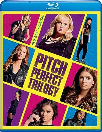 Amazon com: Pitch Perfect Trilogy [Blu-ray]: Anna Kendrick, Skylar