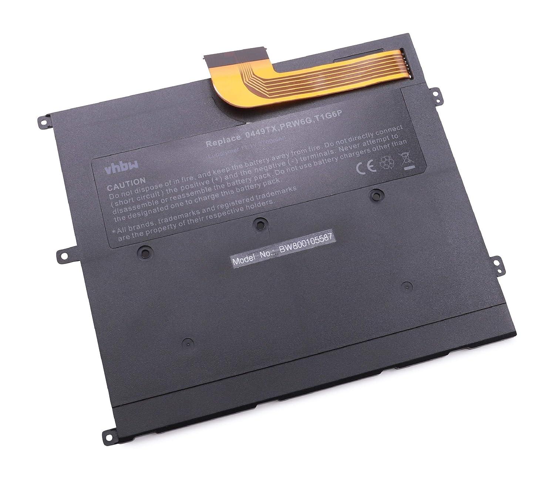 vhbw batería 2700mAh (11.1V) Laptop para Notebook Laptop (11.1V) DELL Vostro V13, V130 y 0449TX, 0NTG4J, 0PRW6G, 312-8479, CN-0449TX, PRW6G, T1G6P. d6c3e8