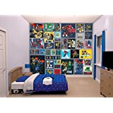 Walltastic 42100 disney winnie pooh tapete wandbild paper bunt 52 5 x 7 x 18 5 cm amazon - Transformers tapete ...