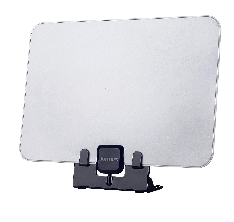 Noir, Gris, 1,8 m, UHF, 340 x 256 x 39 mm, 191 g, 365 x 60 x 320 mm Antennes TV Philips SDV5231//12 antenne TV